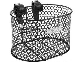 Košík přední Honeycomb s popruhy - Black