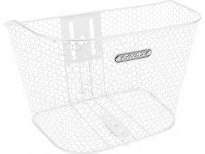 Košík přední Honeycomb - White