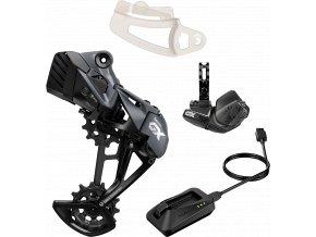 GX Eagle AXS Upgrade Kit (přehazovačka s baterií, páčka s objímkou, nabíječka, Chain Gap)