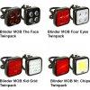 Knog Blinder MOB Twinpack / Přední + Zadní (Varianta Twinpack Mr. Chips)