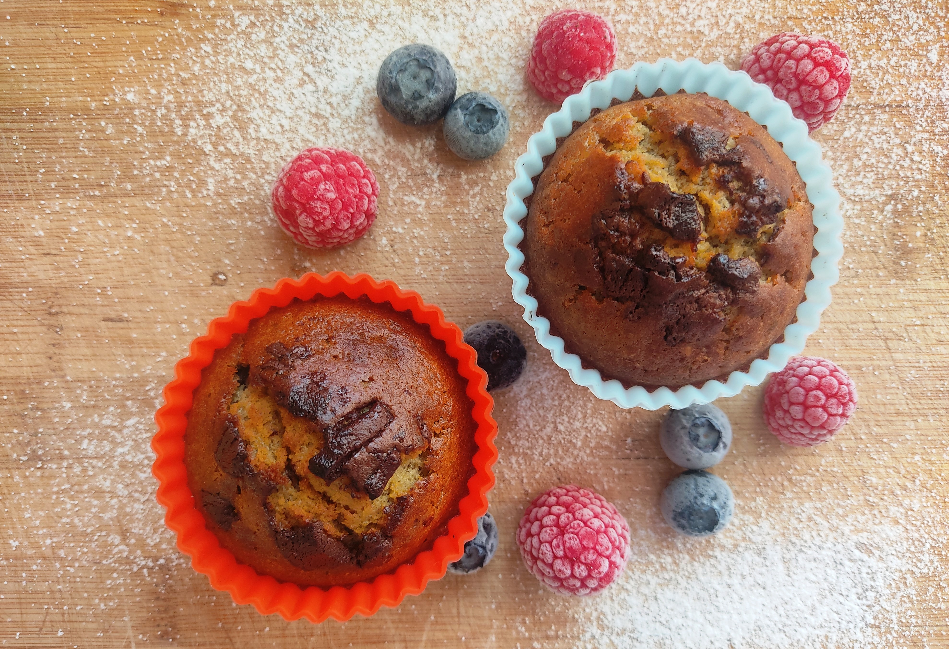 Muffiny s kotvičníkem pro více energie