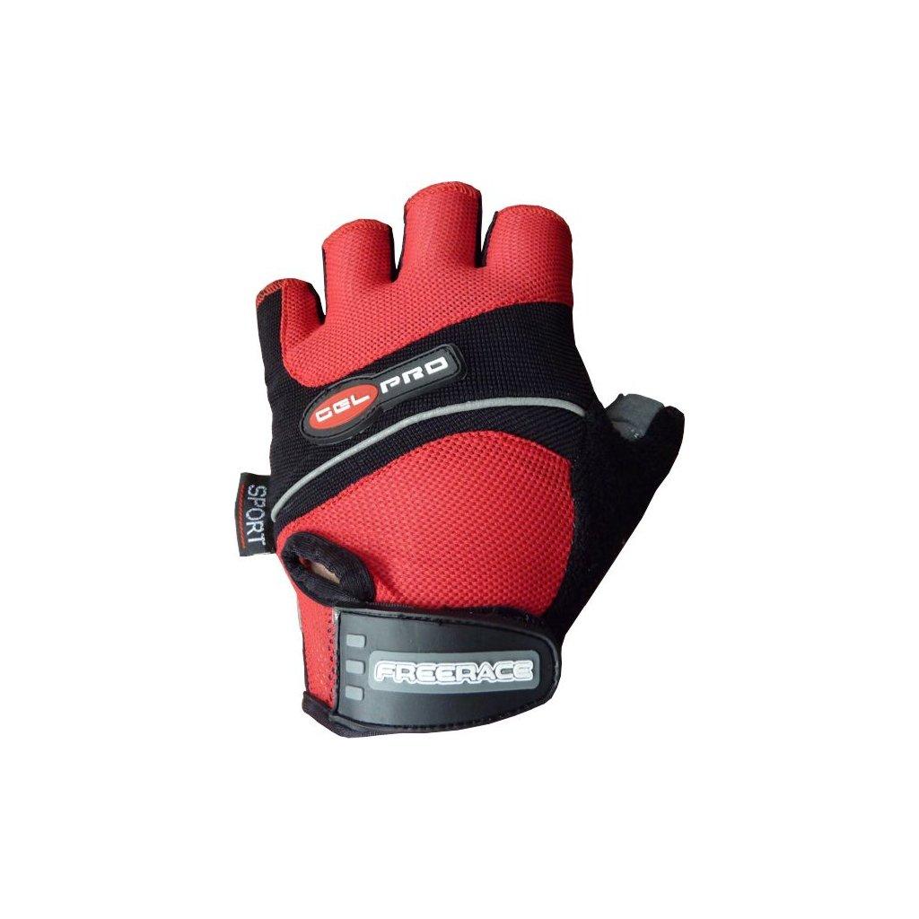 FREERACE - Gelové cyklistické rukavice GEL PRO