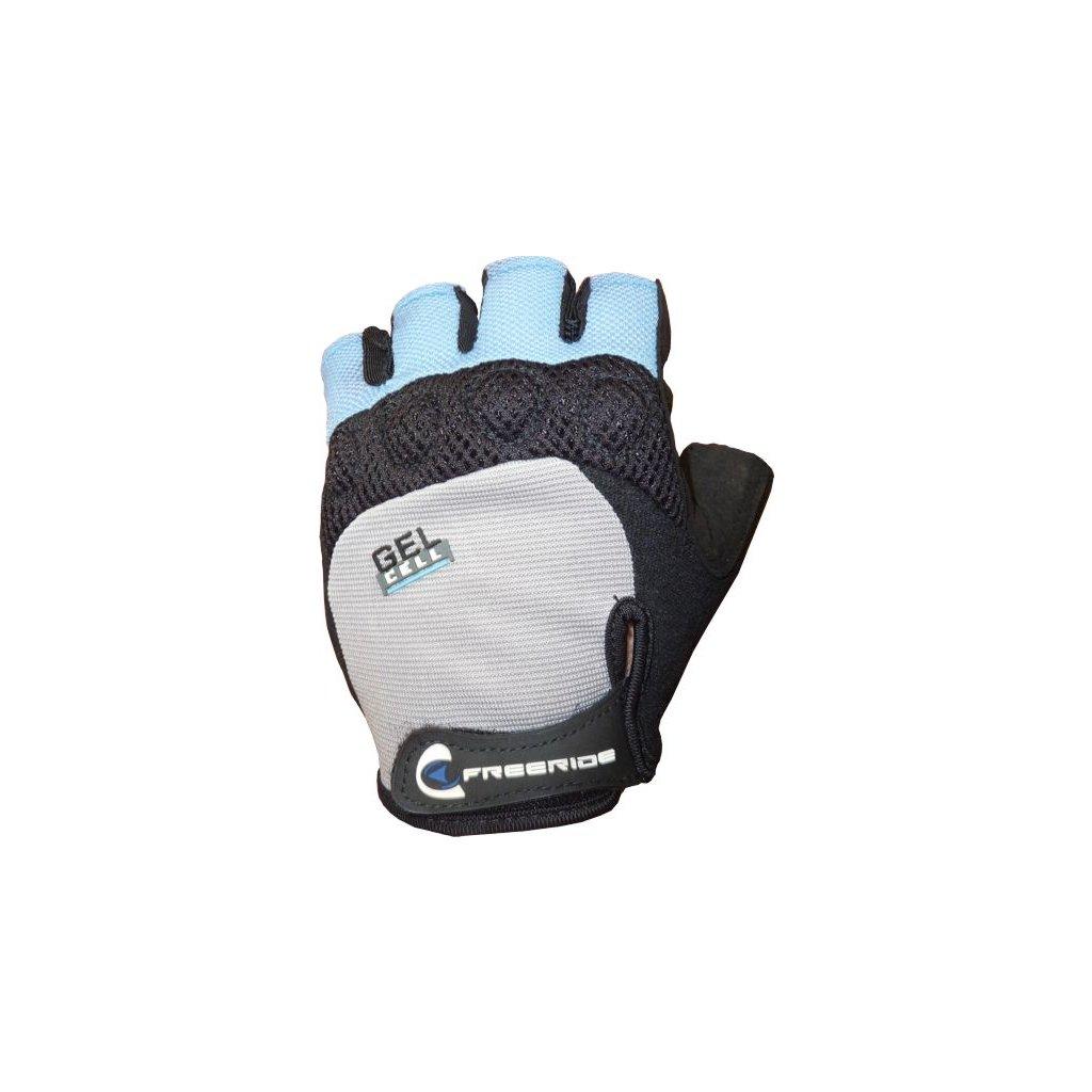 FREERIDE - Gelové cyklistické rukavice SPIKE