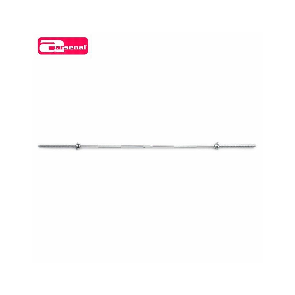 ARSENAL osa rovná 1800/25 mm, matice se závitem