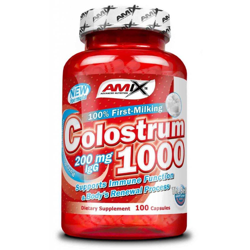 Amix Colostrum 1000mg 100kapslí