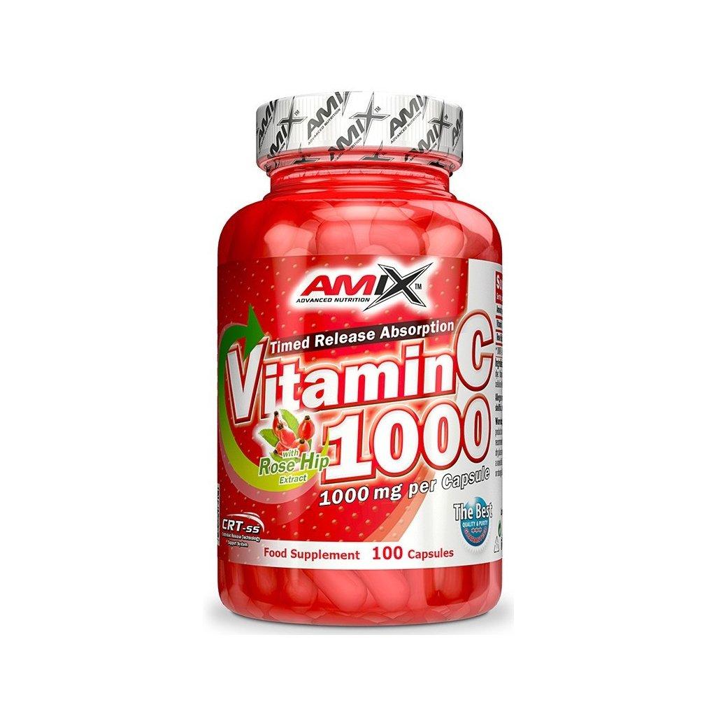 Amix Vitamin C 1000mg 100kapslí