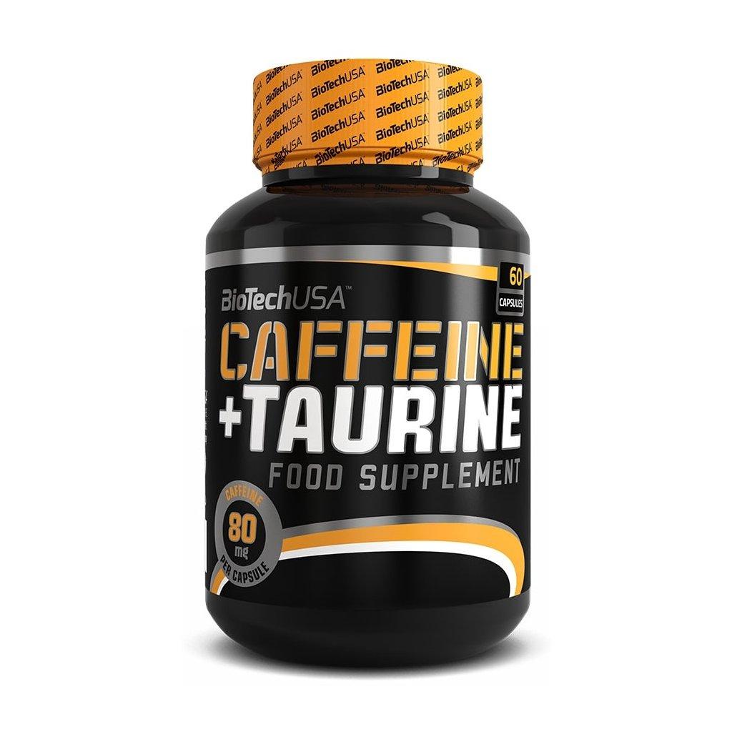 BioTech Caffeine + Taurine 60kapslí