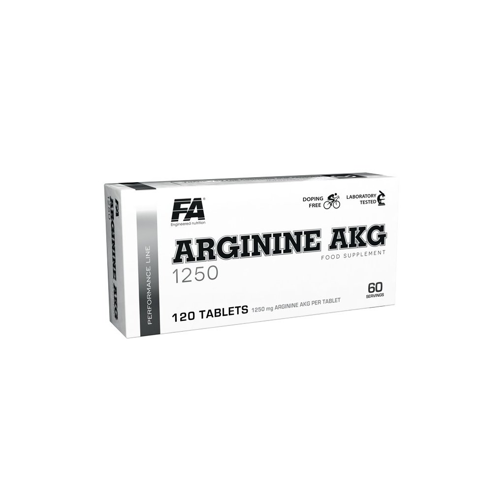 Fitness Authority Arginine AKG 1250 120tablet