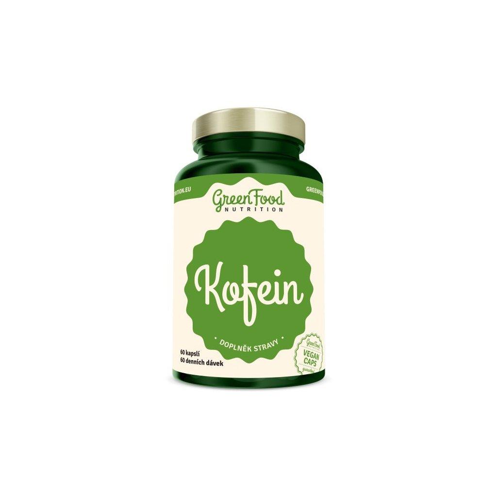 GreenFood Kofein 60 kapslí