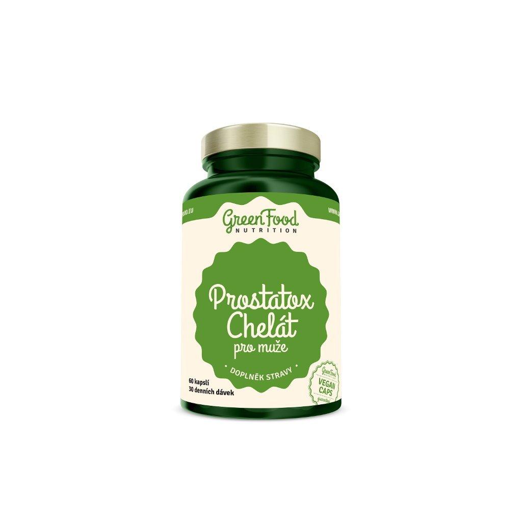 GreenFood Prostatox Chelát pro muže 60kapslí