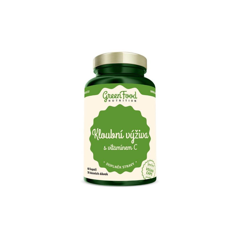 GreenFood Kloubní výživa s vitamínem C 60kapslí