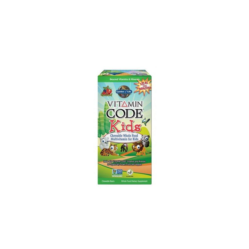 Garden of Life Vitamin Code Kids 60tablet