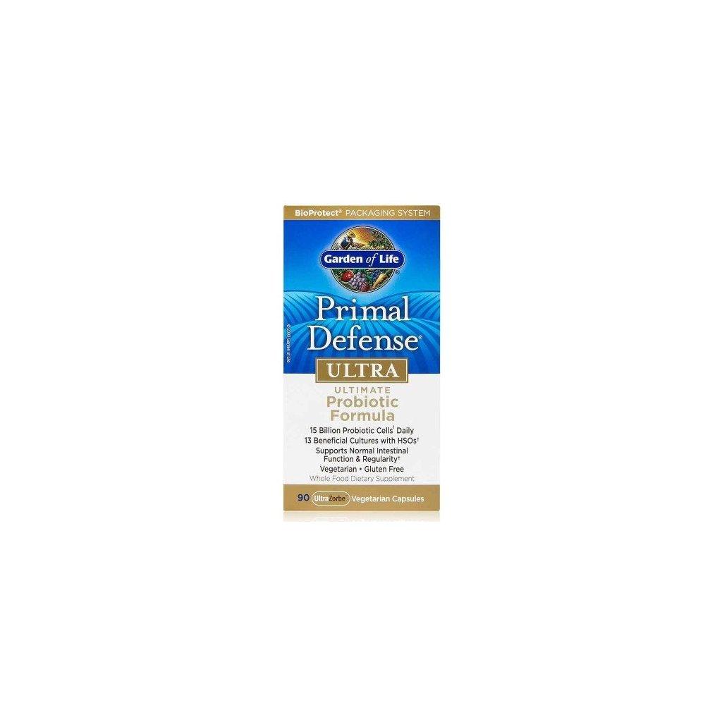 Garden of Life Primal Defense Ultra Probiotic Formula 90kapslí