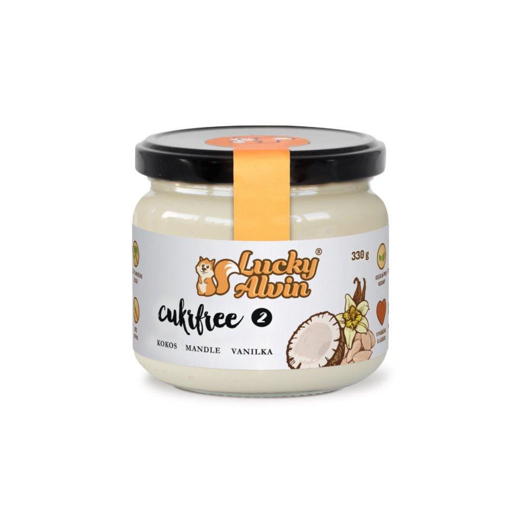 Lucky Alvin Cukrfree 2 kokos, mandle, vanilka 330g