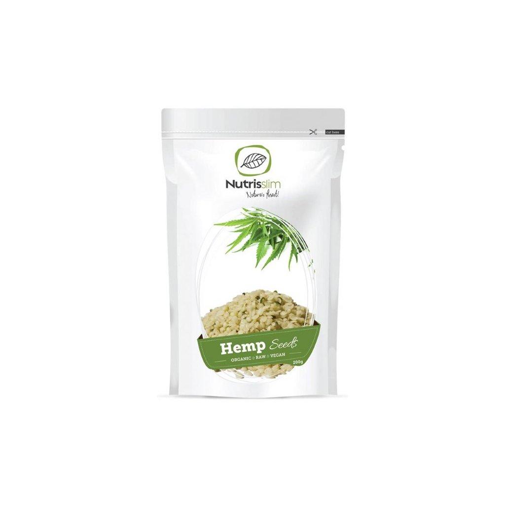 Nutrisslim Hemp Seeds BIO 200g