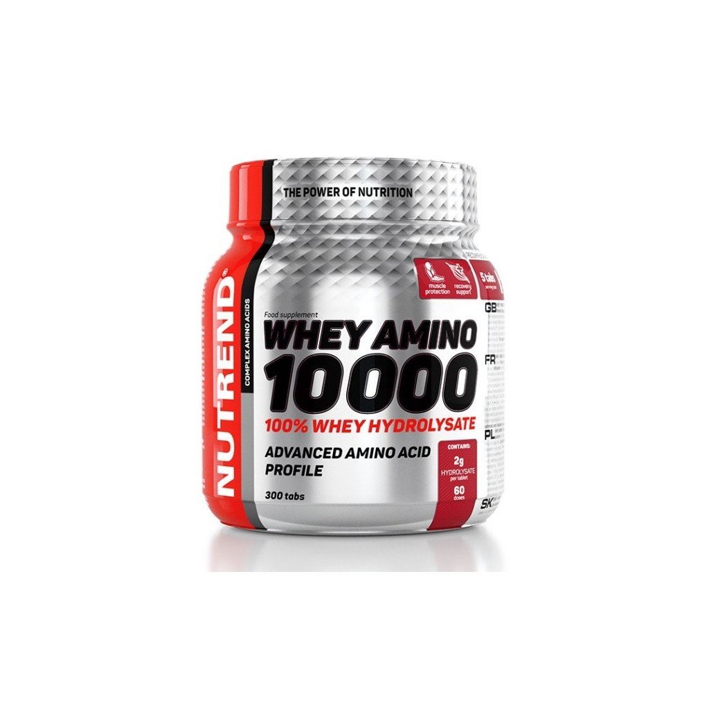 Nutrend Whey Amino 10000 300tablet