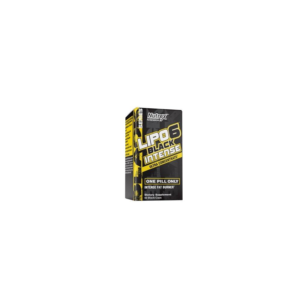 Nutrex Lipo 6 Black Intense Ultra Concentrate 60kapslí