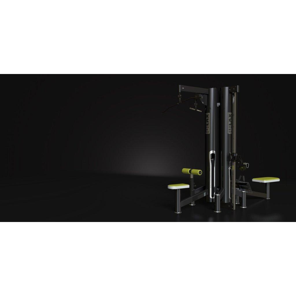 LAX - Vícepozicová kladková věž - 4 stanoviště - řada New generation