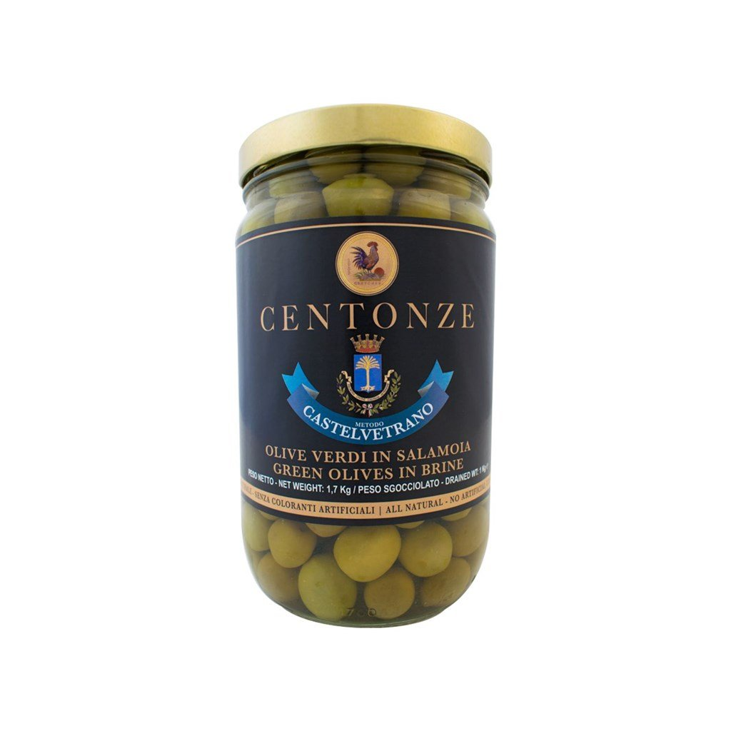 Green Olives in Brine (Olivy zelené) 1kg