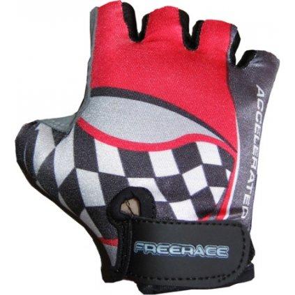 FREERACE-Cyklistické rukavice KIDS