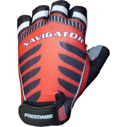 FREERACE-Cyklistické rukavice  NAVIGATOR