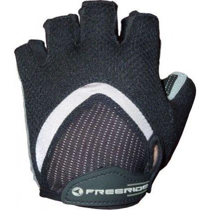 FREERIDE - Gelové cyklistické rukavice MAGMA