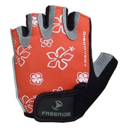 FREERIDE - Gelové cyklistické rukavice DISCOVERY