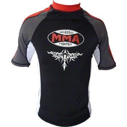 MMA  Rashguard tričko SCORPIO RED