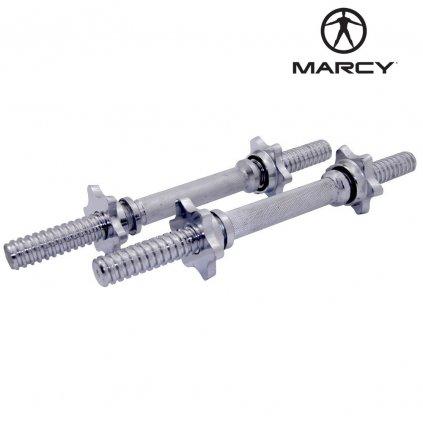 MARCY set dvou os a čtyř uzávěrů - 25mm průměr