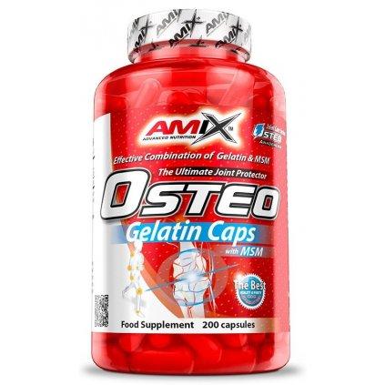 Amix Osteo Gelatin Caps 200kapslí