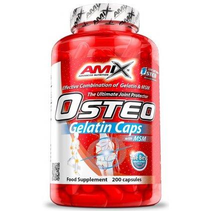 Amix Osteo Gelatin Caps 400kapslí