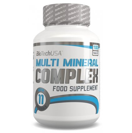BioTech Multimineral complex 100tablet