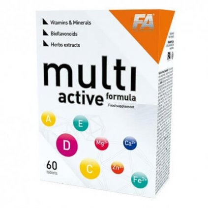 Fitness Authority Multi Active Formula 60tablet