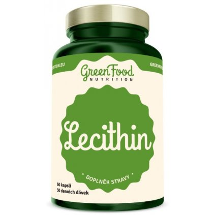 GreenFood Lecithin 60 kapslí
