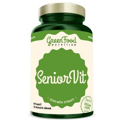 GreenFood SeniorVit 60kapslí