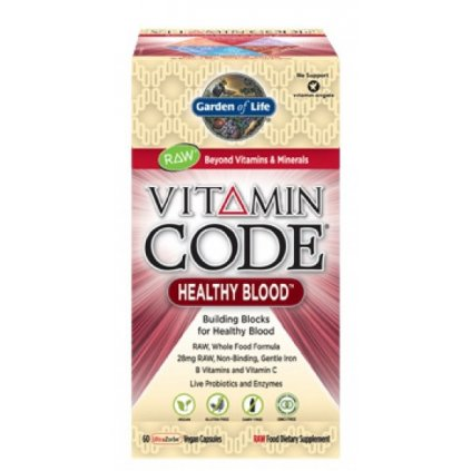 Garden of Life Vitamín Healthy Blood RAW 60kapslí
