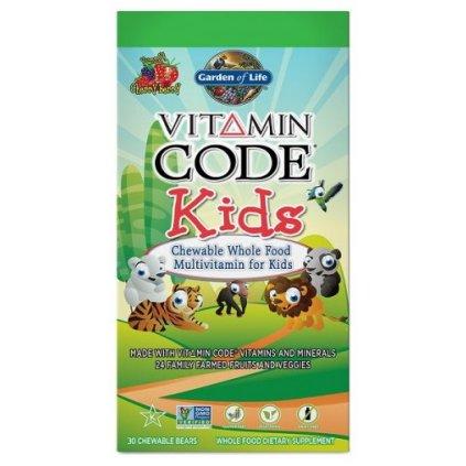 Garden of Life Vitamin Code Kids 30tablet