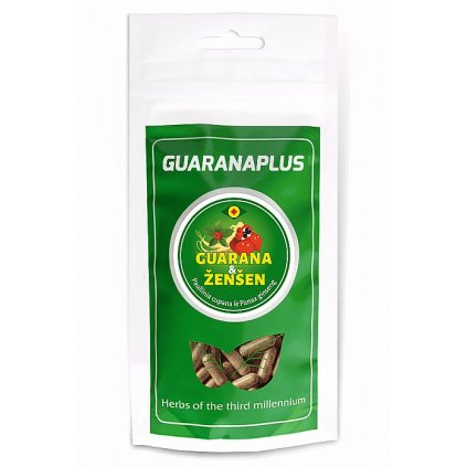 GuaranaPlus Guarana + Ženšen 100kapslí