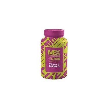 Mex Nutrition Triple Omega 3 90kapslí
