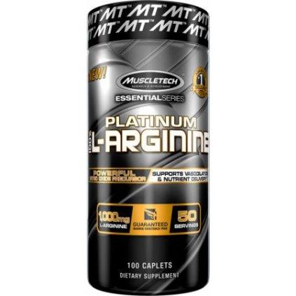 MuscleTech Platinum 100% L-Arginine 100tablet