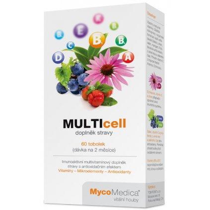 MycoMedica Multicell 60kapslí