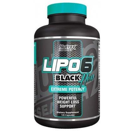 Nutrex Lipo 6 Black Hers Extreme Potency     120kapslí