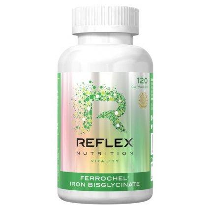 Reflex Ferrochel Iron Bisglycinate 120kapslí