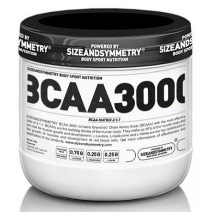 Sizeandsymmetry BCAA 3000 200kapslí