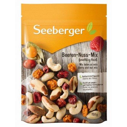 Seeberger Směs sušeného, částečně slazeného bobulového ovoce (50%) a ořechů (50%) 150g