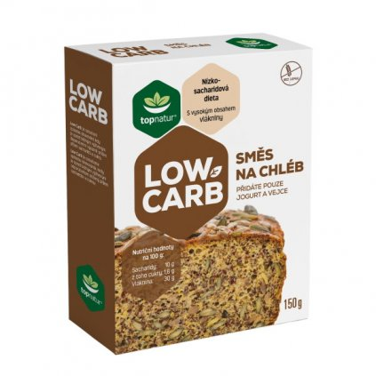 Topnatur Low Carb Směs na chléb 150g