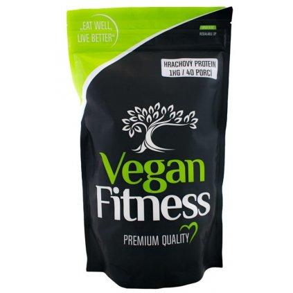 Vegan Fitness 100% Hrachový protein 1000g