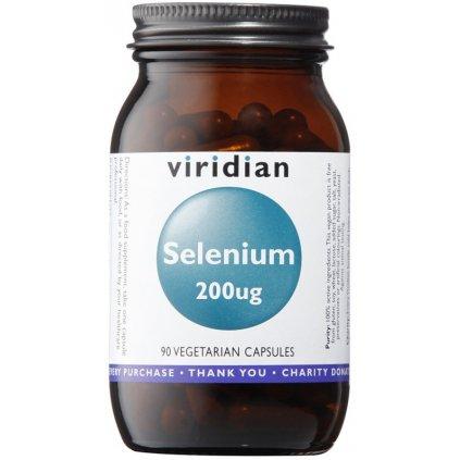 Viridian Selenium 200 µg 90kapslí