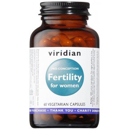 Viridian Fertility for Women (Ženská plodnost) 60kapslí