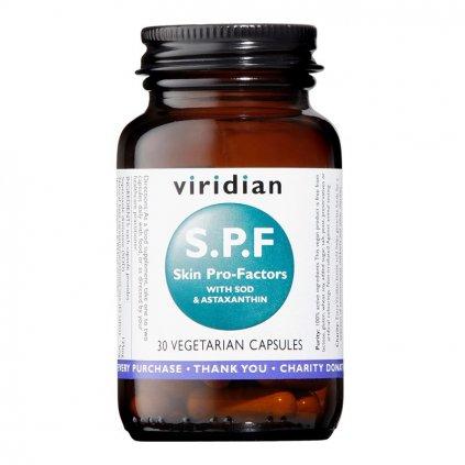 Viridian S.P.F Skin Pro Factor (Komplex pro podporu pleti) 30 kapslí
